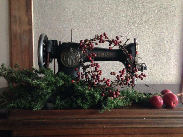 grandma's old sewing machine