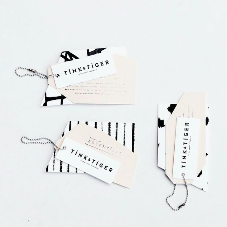 Super fashionable clothing labels for a women's line. Great, Pinterest-friendly colors!