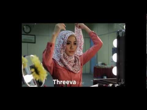 NEW Hijab Tutorial 2013 by ZOYA (4 style): pinning for the first tutorial, that was great. But the music is SO annoyingly in the way and it's taking away from the hijab.