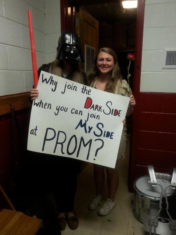 Star Wars Promposal 2015 The Things I Obsess Over