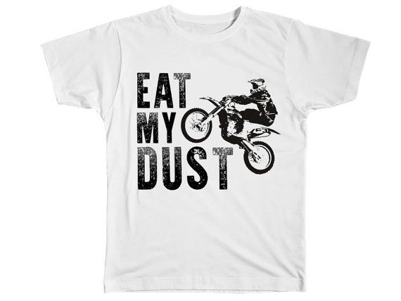 Boys Clothing Kids Fashion Dirt Bike Shirt Funny by Umbuh on Etsy