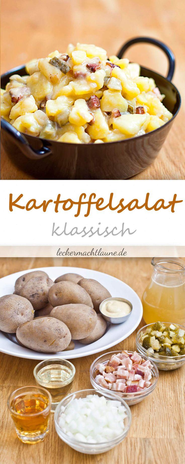 Kartoffelsalat ohne Mayo {grundrezept