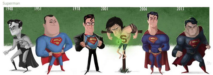 Evoluciones ilustradas de Jeff Victor - Yonkis.com