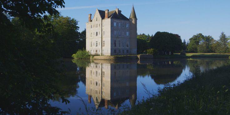Chateau de la Motte Husson is the home of Dick Strawbridge ...