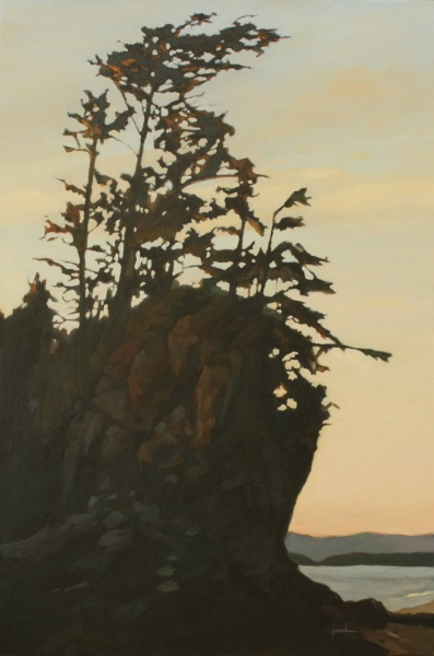 Maria  Josenhans - Sunset at Brady_s Beach