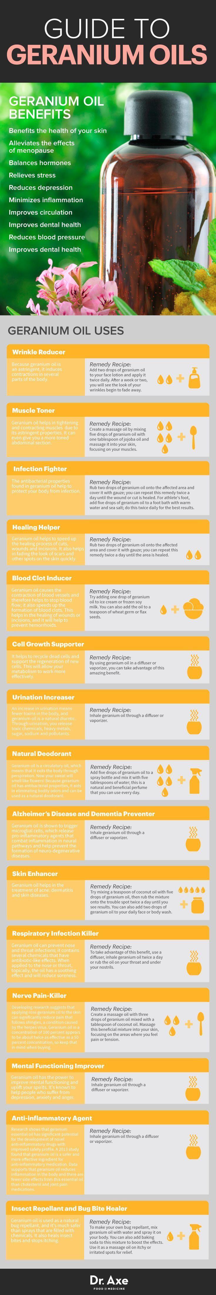 Guide to geranium essential oil  http://www.draxe.com #health #holistic #natural