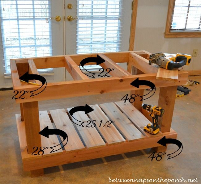 25 Best Potting Bench Plans Ideas On Pinterest Potting
