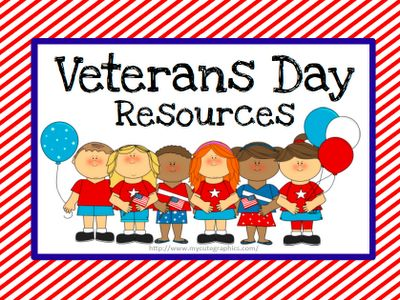 Resources for Veterans Day.  Free packets if you or your spouse is a veteran or currently in the military.