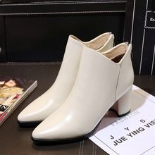 2016 Fall Winter Med Heel Natural Leather Ankle Boots Red Bottom Heeled Shoes for Women Pointed Toe Brand Designer Short Booties     Tag a friend who would love this!     FREE Shipping Worldwide     Get it here ---> http://ebonyemporium.com/products/2016-fall-winter-med-heel-natural-leather-ankle-boots-red-bottom-heeled-shoes-for-women-pointed-toe-brand-designer-short-booties/    #stylish_clothes