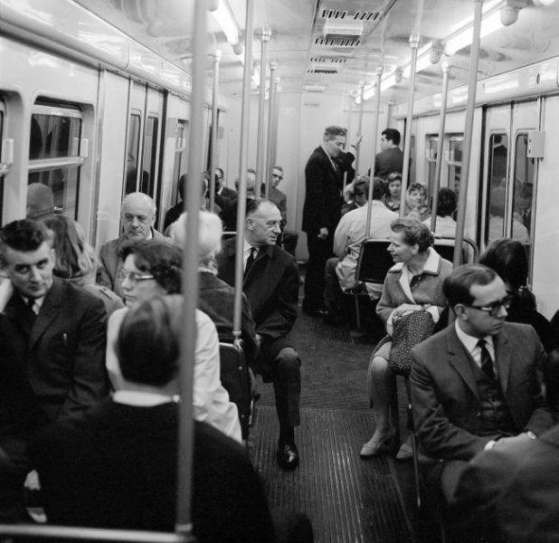 Herbert Behrens, Metro, Rotterdam (1967)
