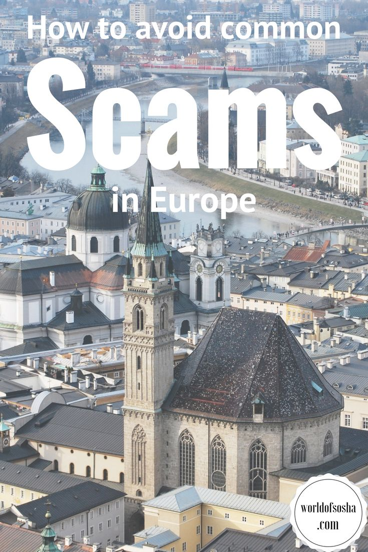 How to avoid common scams in Europe