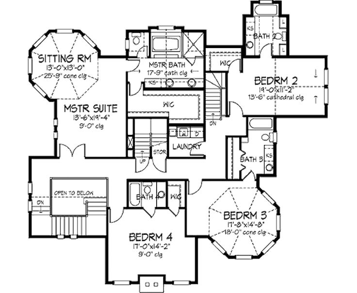 1384 best floor plans images on pinterest house floor for Original victorian house plans