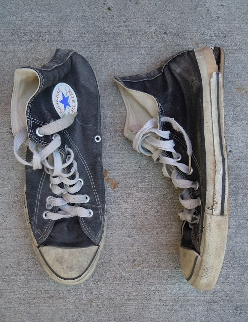 Trashed Converse