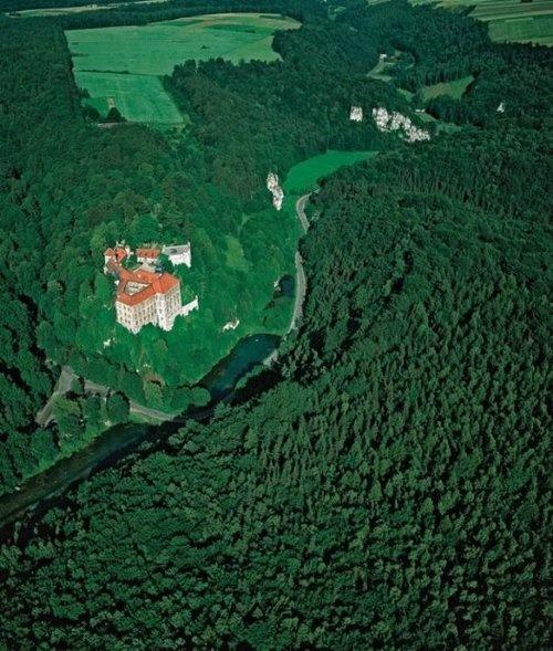 The Castle in Pieskowa Skała, Poland