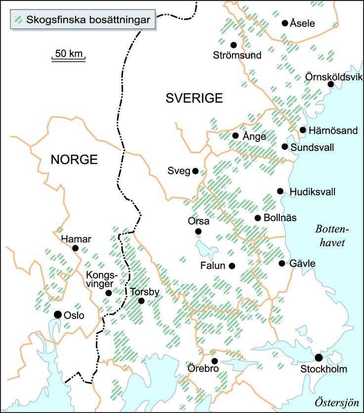 Skandinaviska finnbosättningar