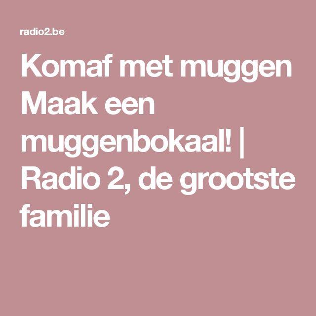 Komaf met muggen Maak een muggenbokaal!  | Radio 2, de grootste familie