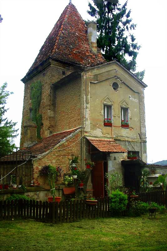 House from the Middle Ages in Sighisoara, Romania.