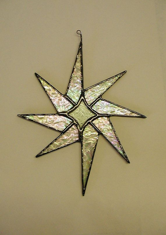 Exotic Star stained glass on Etsy, $33.00
