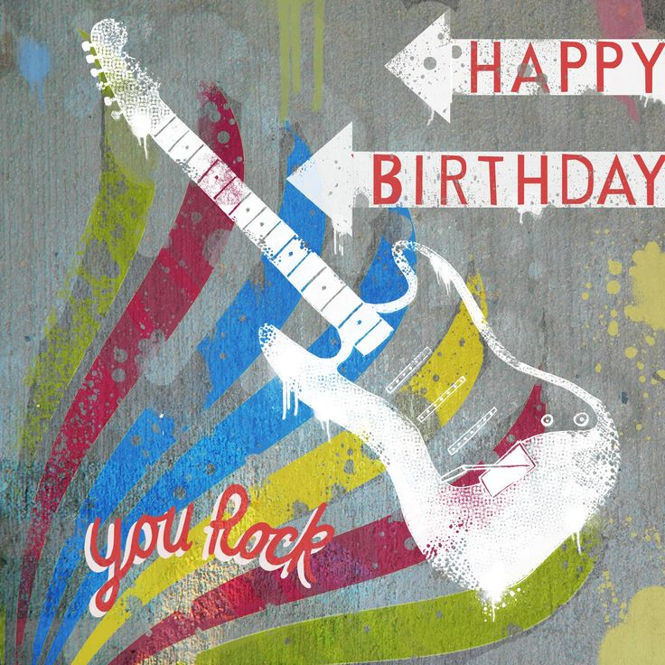 Best 25+ Happy Birthday Guitar Ideas On Pinterest