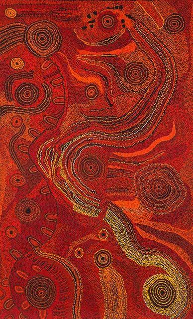 Tjungkara Ken - 'Seven Sisters' | Aboriginal Art | Outstation