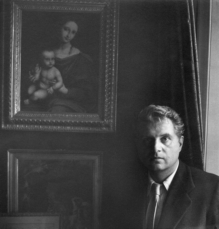 'Perhaps if my childhood had been happier, I would have painted bouquets of flowers.' Francis Bacon By Cecil Beaton