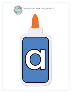 sticky vowelsSticky Letters, Schools Ideas, Reading Languages, Glue Bottle, Schools Stuff, Languages Art, Vowels Glue, Sticky Vowels, Classroom Ideas