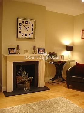 Wall clock Roger Lascelles Manhattan Mirror http://www.robertorossi.ro/roger-lascelles-manhattan-mirror-60-cm-45058-2660