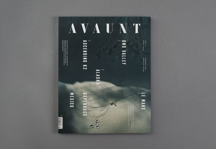 Avaunt Magazine Issue Four — Alex Hunting Studio