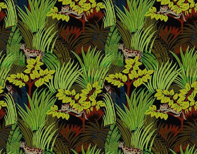 kipling wallpaper pierre frey