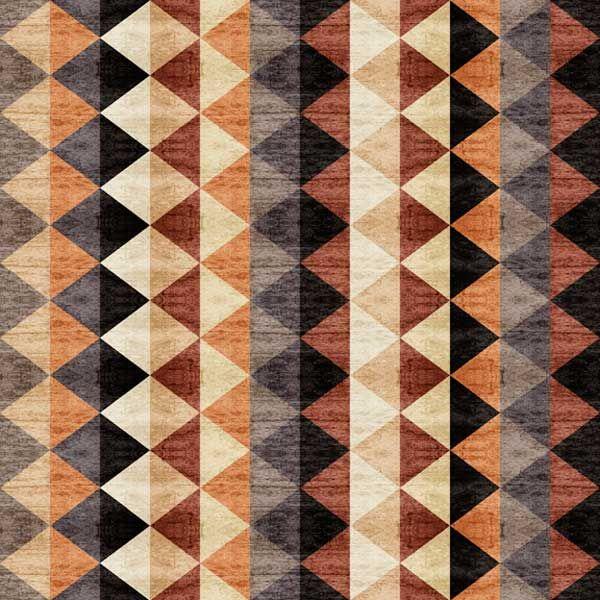 Quilting Treasures Dan Morris Woodland Spirit Rust Blanket Stripe | Fabric
