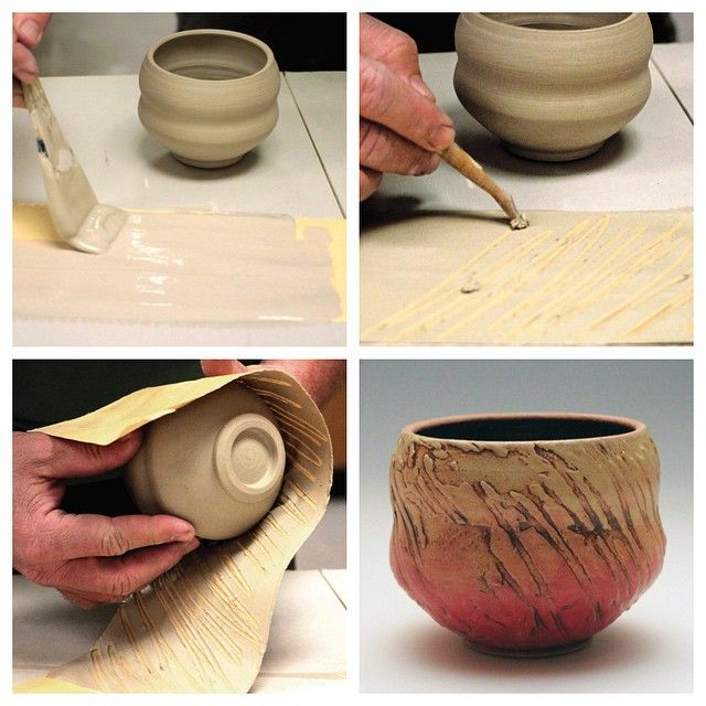 17 best images about pottery i like 2 on pinterest for Clay pot painting techniques