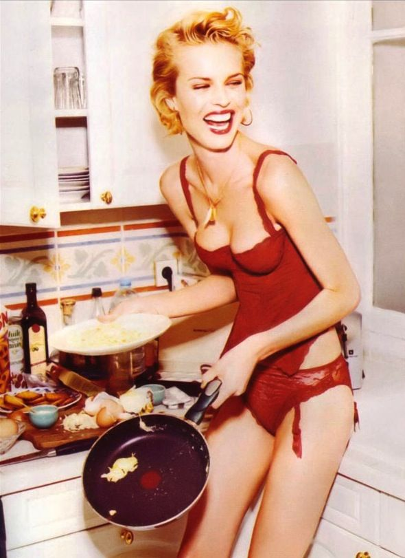 418 best images about be like june on pinterest cooking for Naked in kitchen pics
