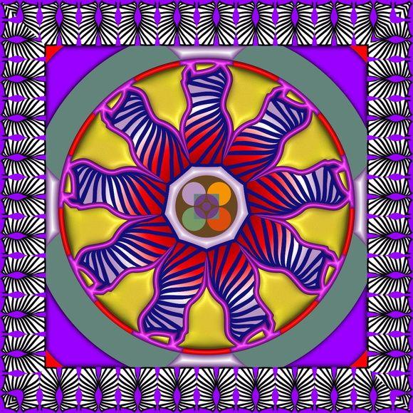 Pôster Princípio Feminino - Pôster Princípio Feminino - composição geométrica com alusão ao Princípio Feminino, cujas qualidades são atribuídas ao lado comportamental mais gentil do ser humano, alguns exemplos são o respeito, confiança, acolhimento, paciência, lealdade, honestidade, empatia e misericórdia e o amor.  A exaltação destas virtudes mais presentes no feminino não tem a intenção de taxar o masculino ou o feminino como inferior ou superior, mas sim que haja na raça humana um...