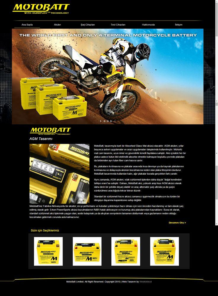 Motobatt | Web Tasarım