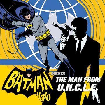 BATMAN EL CABALLERO OSCURO: Batman '66 Meets The Man From UNCLE