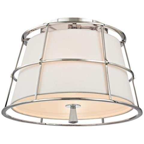 "Hudson Valley Savona 14 1/4""W Old Bronze Ceiling Light - #7P490 | LampsPlus.com"