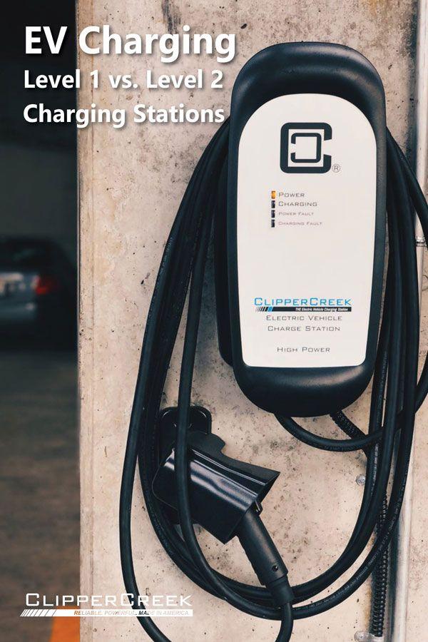 Level 1 vs Level 2 Electric Vehicle Charging Stations   EV