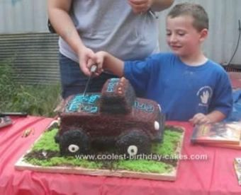 Monster Truck Birthday Party Ideas Decoration Diy Cake Tutorial 54 Ideas