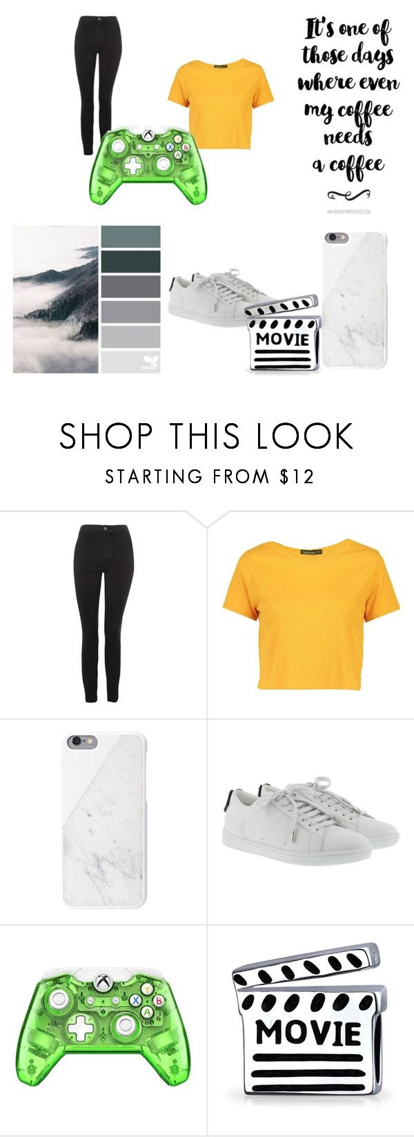 """""""Olivia Kimberly Richards"""" by stardust-133 on Polyvore featuring Topshop, Boohoo, Yves Saint Laurent and Bling Jewelry"""