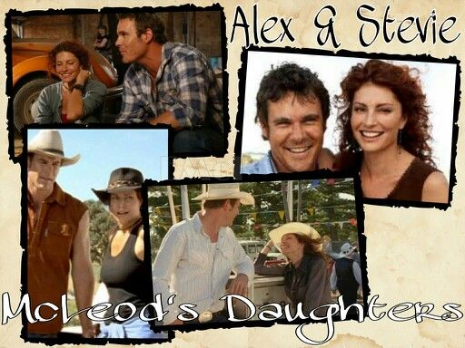 McLeod's Daughters Wallpaper by Elizabeth McFarland- Alex Ryan & Stevie Hall