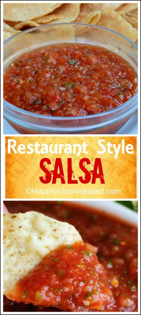 Salsa is one of the easiest seriously one of the easiest things to make.  PLEASE do yourself a favor and take the 5 minutes it takes to make this yourself!  #salsa #cleaneating #dip