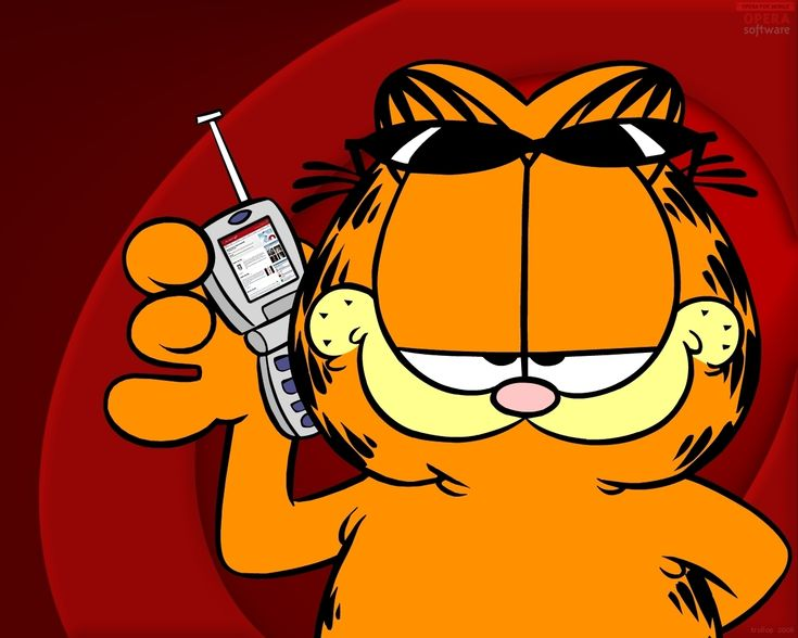 Garfield -Created by Jim Davis in 1978 as a comic strip, then as a tv show from 1981-1991, recently in early 2000s it has been re-made into a series of modern animation movies. Description from pinterest.com. I searched for this on bing.com/images
