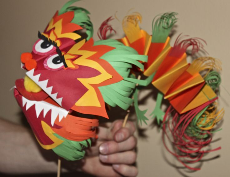 Paper Dragon - Chinese New Year Inspired