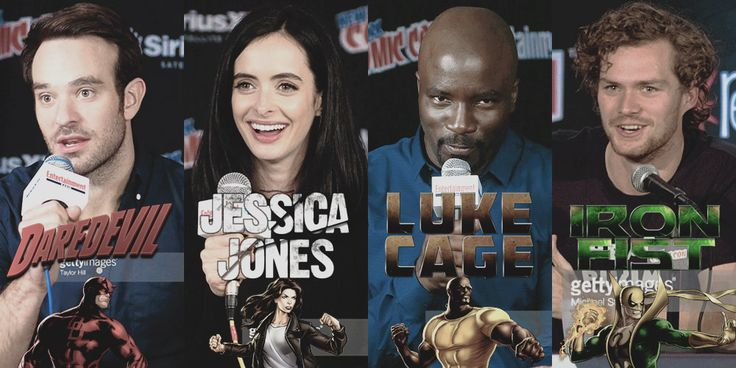 Finally, it had to happen. Well actually it had been announced some time ago, and now The Defenders were presented during New York Comic Con