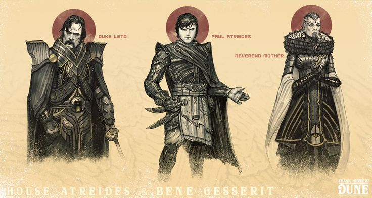 "Tom Kraky made some of the best Dune art I have ever seen. Duke Leto, Paul Atreides, and the Reverend Mother. ""The mystery of life isn't a problem to solve, but a reality to experience."" - Frank Herbert, Dune Wrapped and edited my series of Dune designs based on Frank Herbert's epic novel. This book really..."