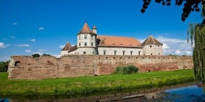 Medical tourism / Medical travel in Romania / Fagaras fortress.