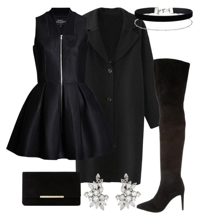 """""""S"""" by modernfashion101 on Polyvore featuring Sergio Rossi, Dune and Miss Selfridge"""