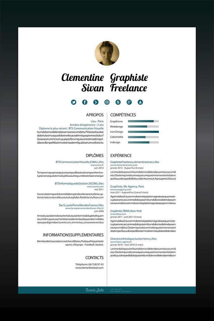Smart Resume 16 Best Smart Resumes I Like Images On Pinterest  Creative
