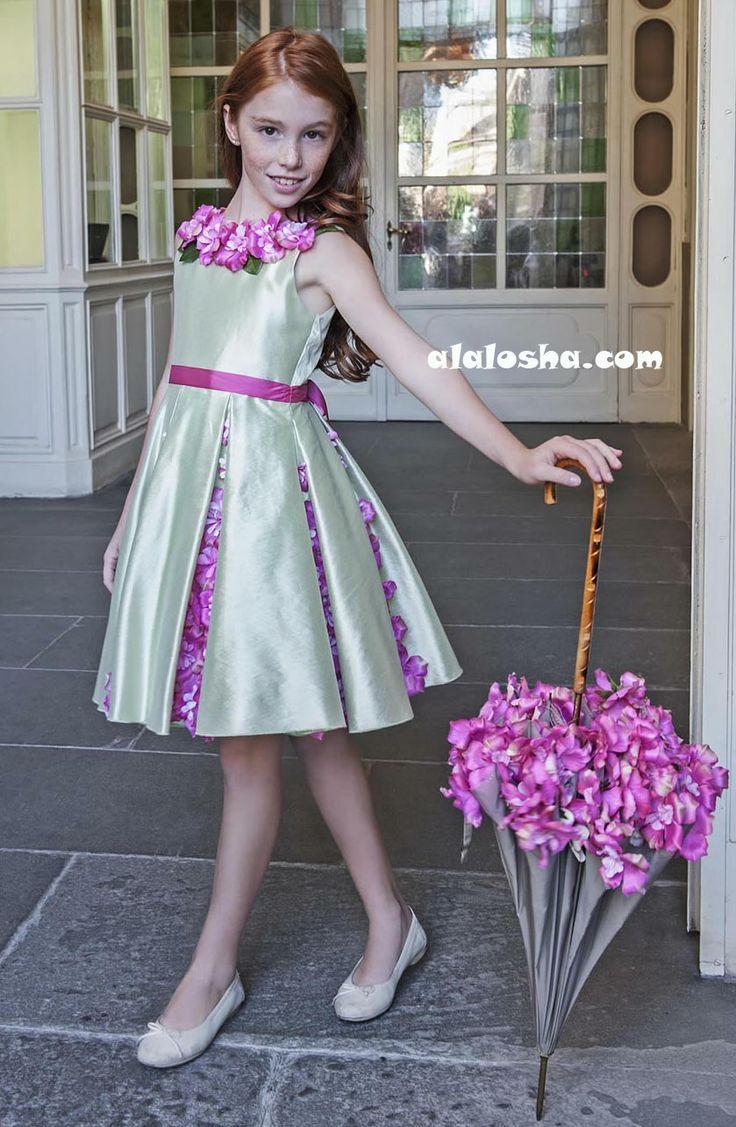ALALOSHA: VOGUE ENFANTS: LESY the luxury GIRLSWEAR brand SS'14