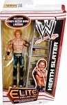 Name: Heath Slater Action Figure Manufacturer: Mattel Toys Series: Elite Collection Series 16 Release Date: August 2012 For ages: 4 and up Details (Description): Capturing all the action and dramatic exhibition of sports entertainment, the Mattel WWE Elite Collection features authentically sculpted 6 inch figures of the biggest WWE Superstars. Figures feature deluxe articulation, amazing detail and accessories such as masks, armbands and costumes.